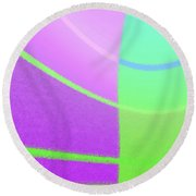 Andee Design Abstract 1 Of The 2016 Collection Round Beach Towel