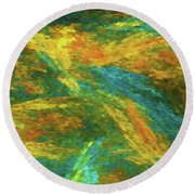 Andee Design Abstract 16 B 2018 Round Beach Towel