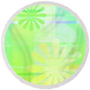 Andee Design Abstract 3 Of The 2016 Collection  Round Beach Towel
