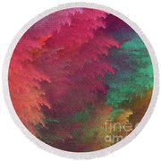 Andee Design Abstract 6 2018 Round Beach Towel
