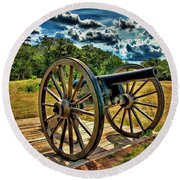 Andersonville Cannon Round Beach Towel