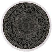 Andoluvium Metal Mandala Round Beach Towel