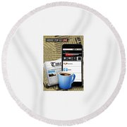 Android App Development Abu Dhabi Round Beach Towel