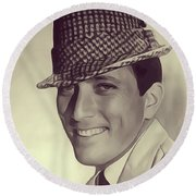Andy Williams, Singer Round Beach Towel