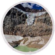 Angel Glacier Jasper 2 Round Beach Towel