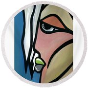 Angelo Round Beach Towel