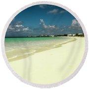 Anguilla - Beach  Round Beach Towel