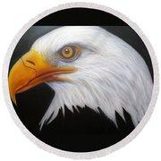 Animal- Eagle Round Beach Towel