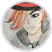Anime  Round Beach Towel