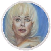 Ann Jillian Round Beach Towel