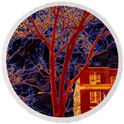 Another Brooklyn Night Round Beach Towel
