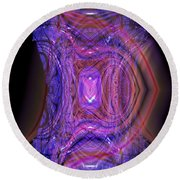 Another Sign Of Life Round Beach Towel