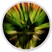 Another Tulip Explosion Round Beach Towel