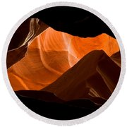 Antelope No 2 Round Beach Towel