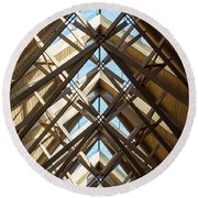 Anthony Skylights Round Beach Towel