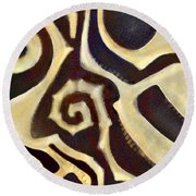Anthropological Round Beach Towel