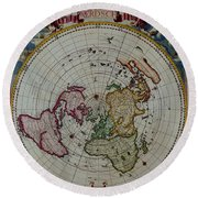 Antique Map Vintage Very Stylish Piece Round Beach Towel