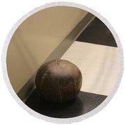 Antique Medicine Ball Round Beach Towel