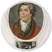 Antoine-laurent Lavoisier, French Round Beach Towel