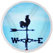Any Way The Wind Blows Home Round Beach Towel