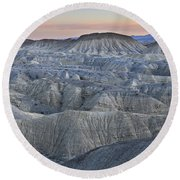 Anza Borrego Round Beach Towel