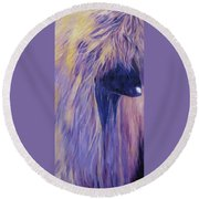Apache Round Beach Towel