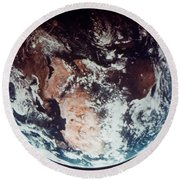 Apollo 11: Earth Round Beach Towel