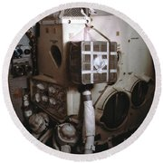 Apollo 13s Mailbox Round Beach Towel