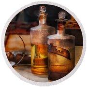 Apothecary - Magic Elixir  Round Beach Towel