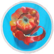 Apple Twist Round Beach Towel