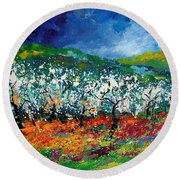 Appletrees 4509070 Round Beach Towel