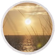 April Beach Round Beach Towel