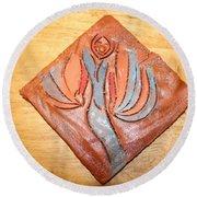 Aquiver - Tile Round Beach Towel