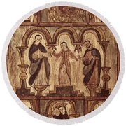 Aragon: Jesus & Disciples Round Beach Towel