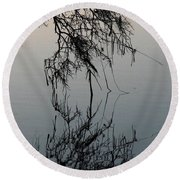 Arbor Reflections Round Beach Towel