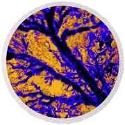 Arboreal Plateau 7 Round Beach Towel
