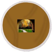 Arch Round Beach Towel