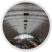 Arched Round Beach Towel