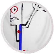 Archer Round Beach Towel