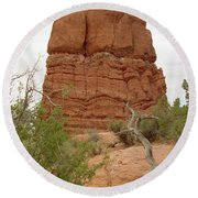Arches Formation 24 Round Beach Towel