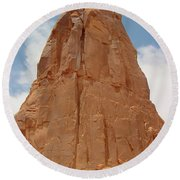 Arches Formation 3 Round Beach Towel