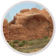 Arches Formation 30 Round Beach Towel