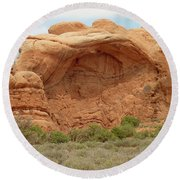 Arches Formation 36 Round Beach Towel
