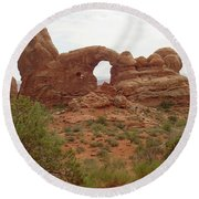 Arches Formation 39 Round Beach Towel