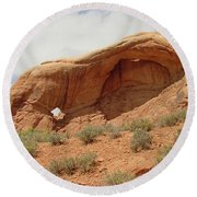 Arches Formation 40 Round Beach Towel
