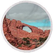 Arches National Park 1 Round Beach Towel