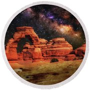 Arches National Park 44 Round Beach Towel