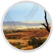 Arches Vista Round Beach Towel