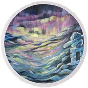 Arctic Experience Round Beach Towel by Joanne Smoley
