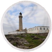 Ardnamurchan Point Round Beach Towel